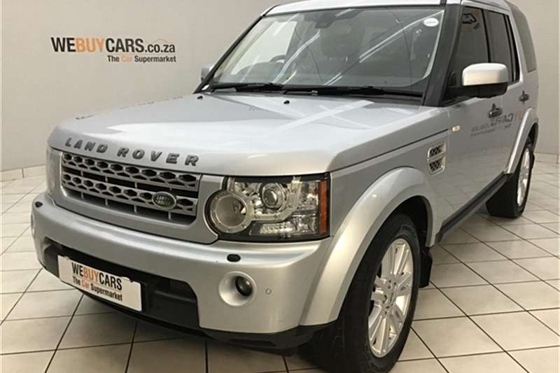 Land Rover Discovery 4 V8 HSE 2011