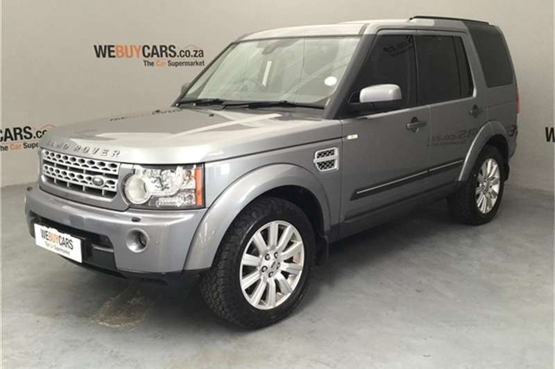 Land Rover Discovery 4 V8 HSE 2012