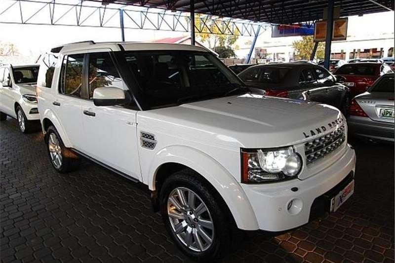 Land Rover Discovery 4 V8 SE 2013