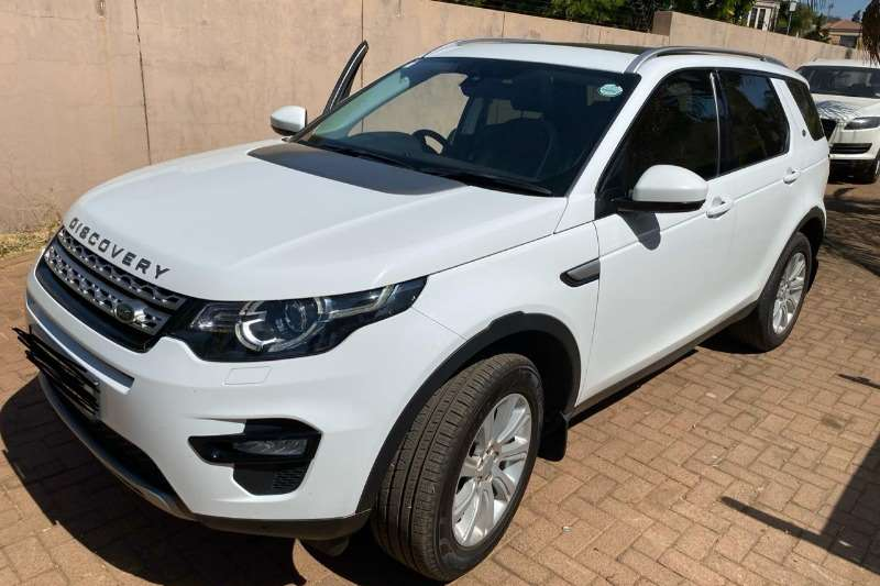 2016 Land Rover Discovery DISCOVERY 2.0D S