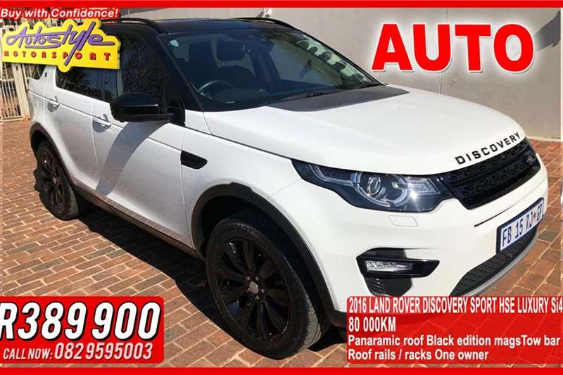Land Rover Discovery Sport 2.0 Si4 HSE LUX 2016