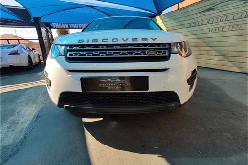 2018 Land Rover Discovery Sport DISCOVERY SPORT 2.0D SE (177KW)