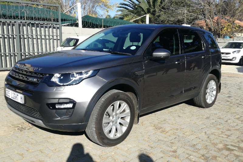 Land Rover Discovery Sport 2.2 SE SD4 2016