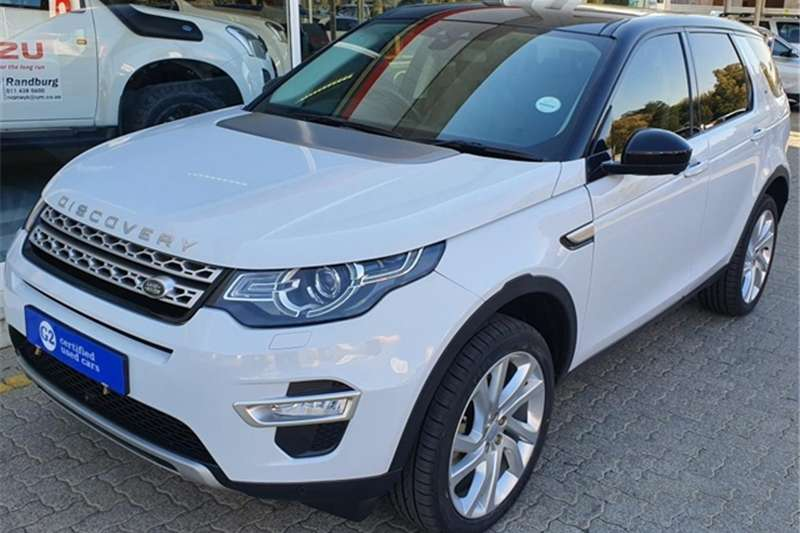 Land Rover Discovery Sport HSE Luxury SD4 2016