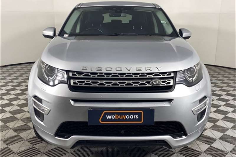 Used 2016 Land Rover Discovery Sport HSE Luxury SD4