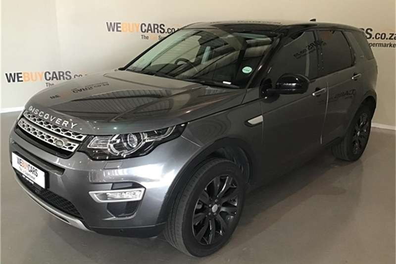 Land Rover Discovery Sport HSE Luxury SD4 2017