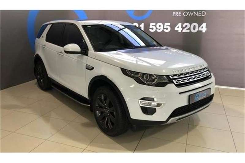Land Rover Discovery Sport HSE Luxury TD4 2017