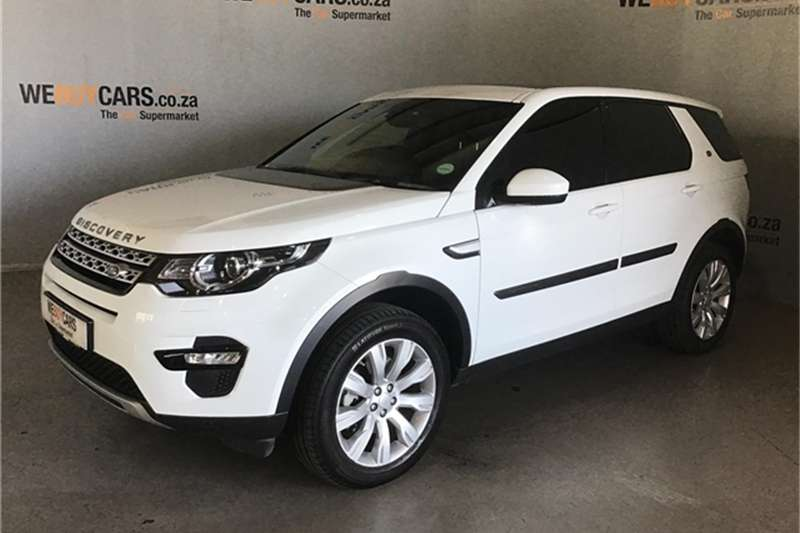 Land Rover Discovery Sport HSE SD4 2016