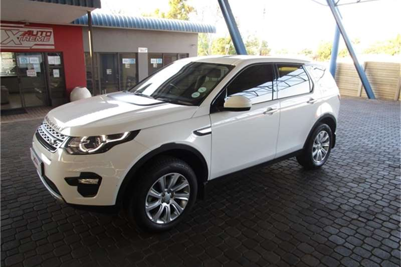 Used 2016 Land Rover Discovery Sport HSE SD4