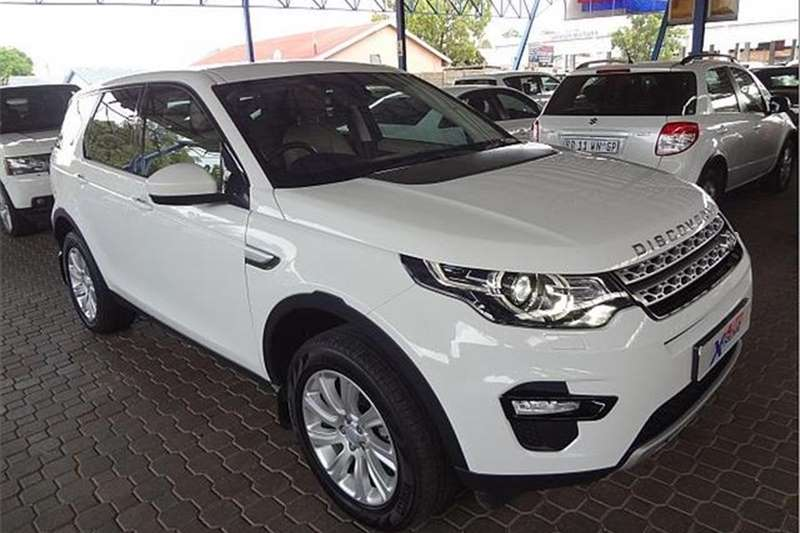 Land Rover Discovery Sport HSE TD4 2016