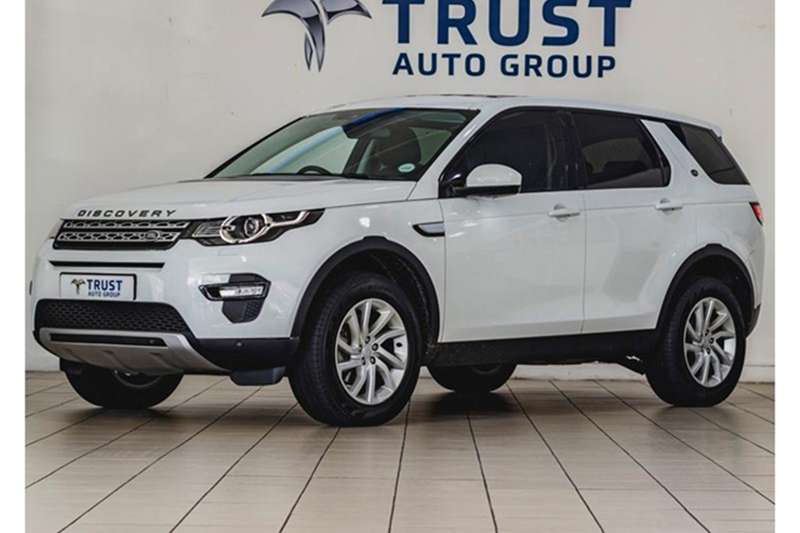 Land Rover Discovery Sport HSE TD4 2017