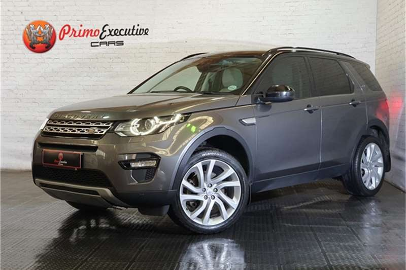 Used 2017 Land Rover Discovery Sport HSE TD4