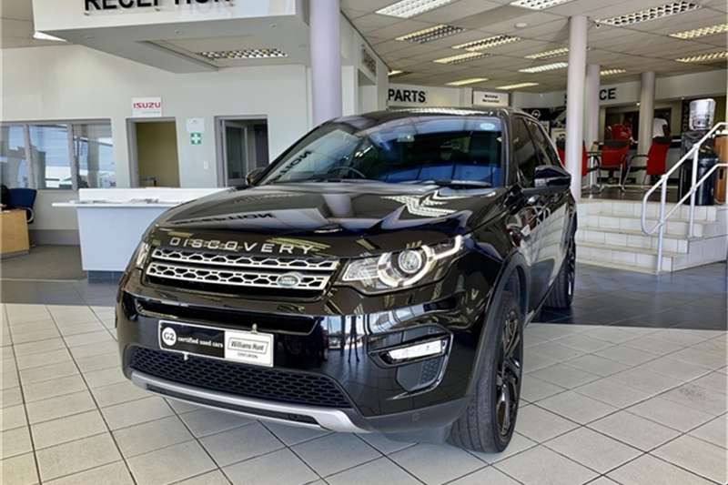 Land Rover Discovery Sport HSE TD4 2018