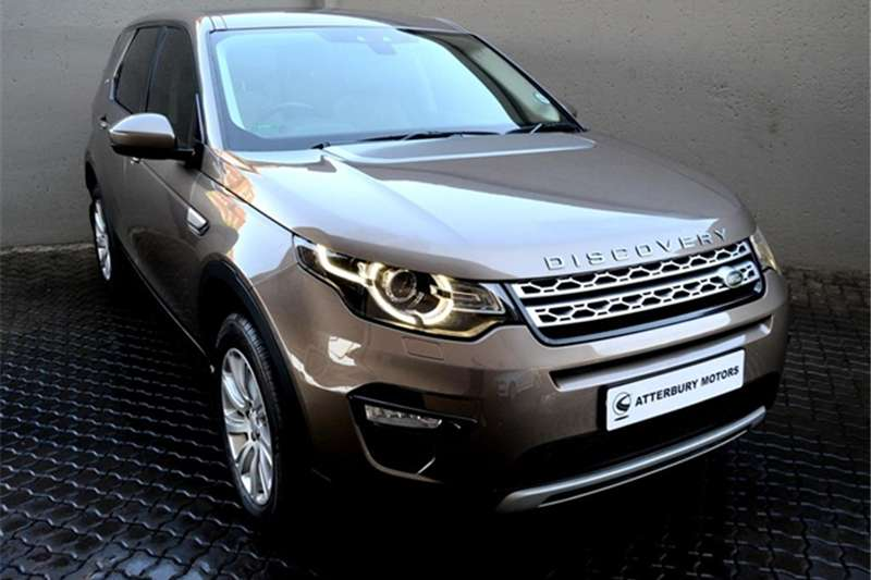 2015 Land Rover Discovery Sport HSE SD4