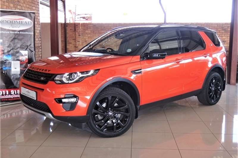 2015 Land Rover Discovery Sport HSE Luxury Si4