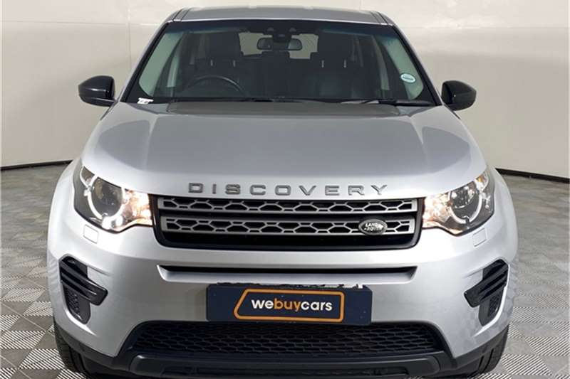 Used 2016 Land Rover Discovery Sport S SD4
