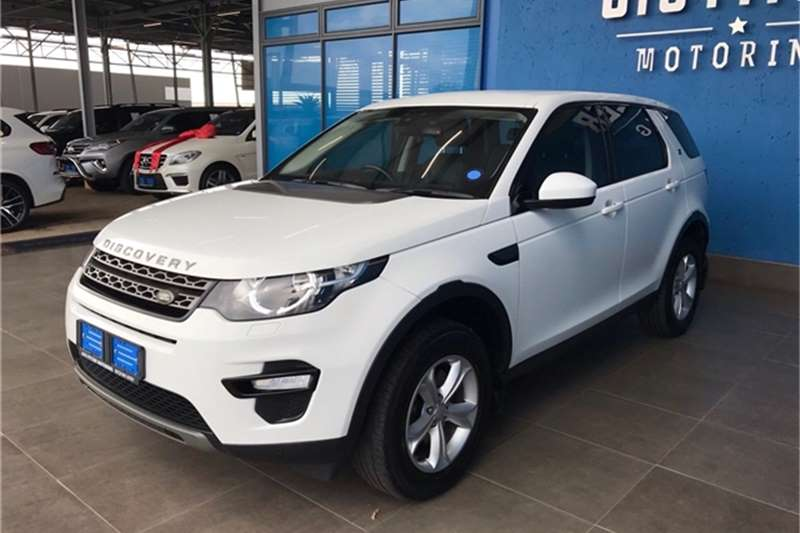 Used 2017 Land Rover Discovery Sport SE Si4