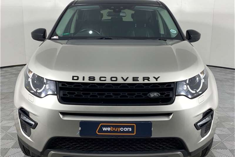 Used 2017 Land Rover Discovery Sport SE TD4