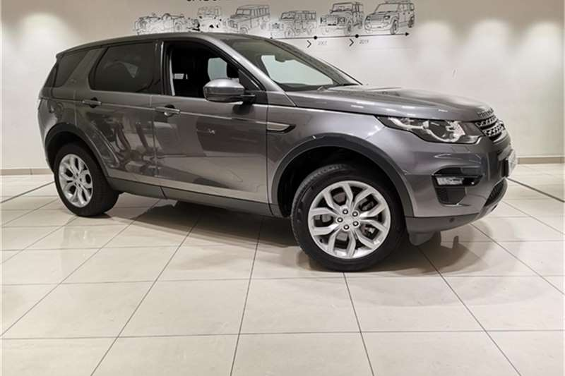 Used 2018 Land Rover Discovery Sport SE TD4