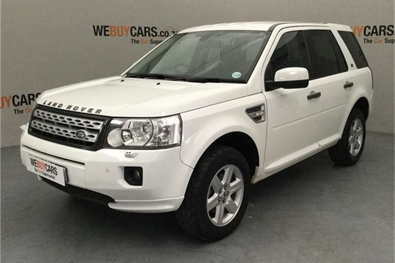 2012 Land Rover Freelander 2 SD4 S
