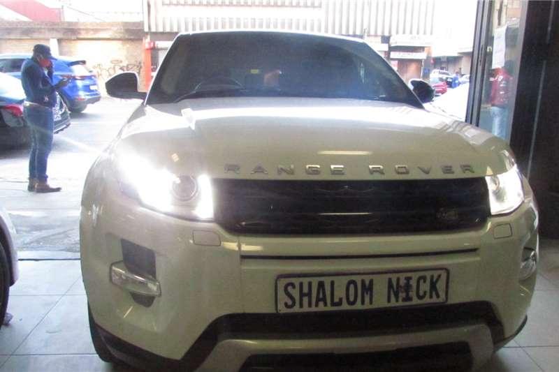 Land Rover Range Rover Evoque 1.5 SD4 2015