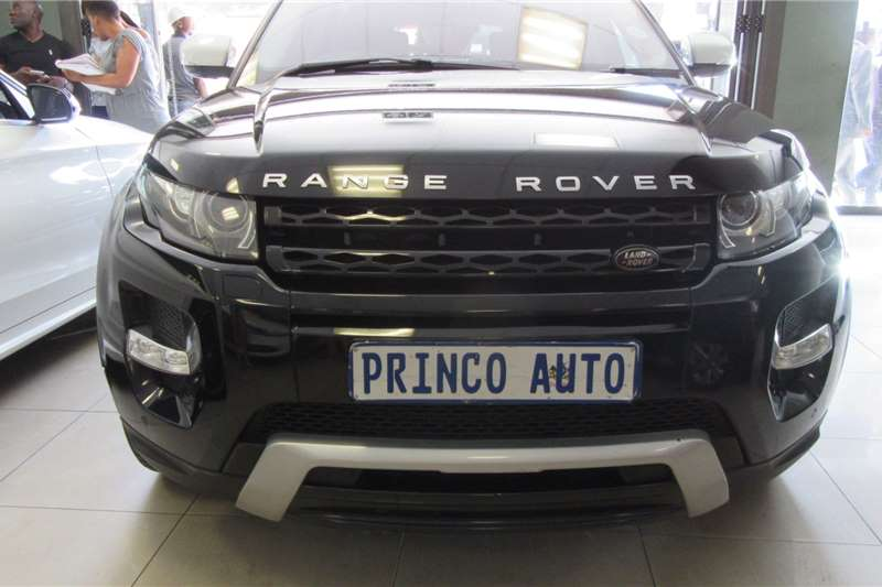 Land Rover Range Rover Evoque 5-door EVOQUE 2.0 DYNAMIC AUTOBIOGRAPHY 2013
