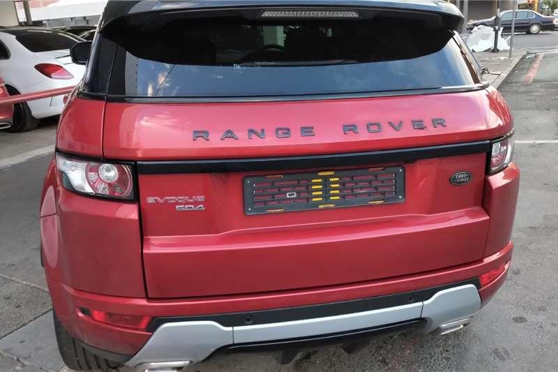 Land Rover Range Rover Evoque 5-door EVOQUE 2.0 SD4 HSE DYNAMIC 2014