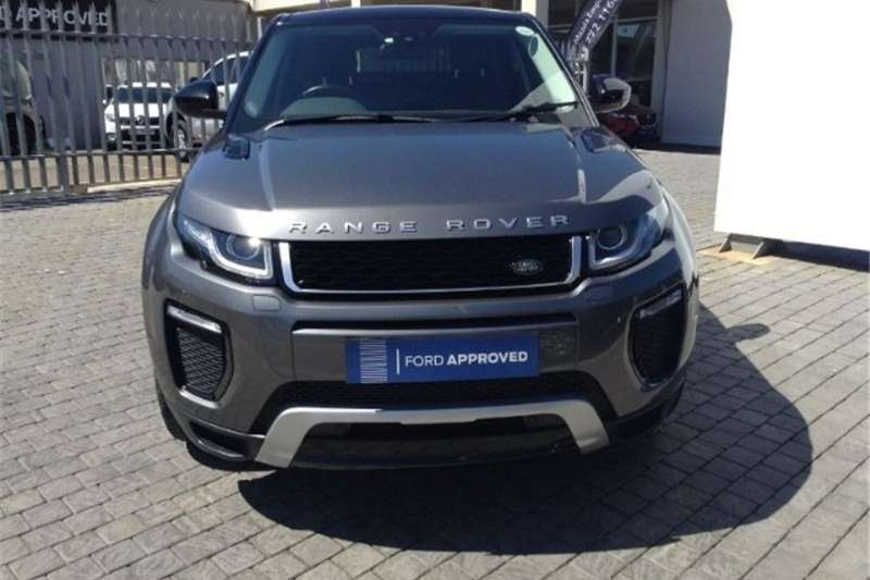 Land Rover Range Rover Evoque 5-door EVOQUE 2.0 SD4 HSE DYNAMIC 2017