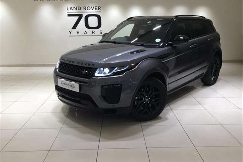 Land Rover Range Rover Evoque 5-door EVOQUE 2.0 SD4 HSE DYNAMIC 2018