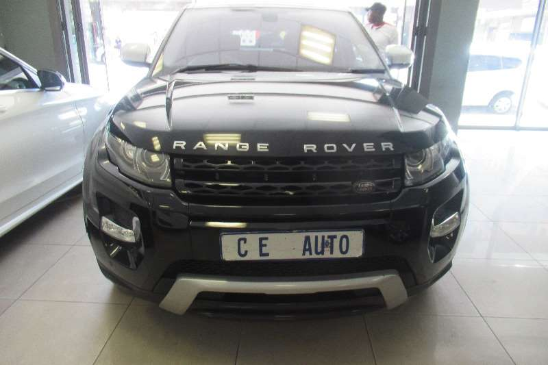 Land Rover Range Rover Evoque 5-door EVOQUE 2.0 SD4 SE 2013
