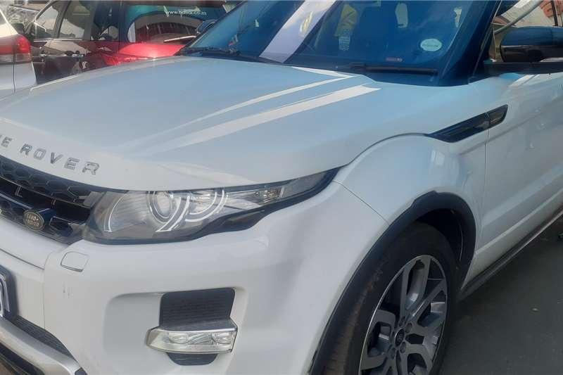 2013 Land Rover Range Rover Evoque 5-door EVOQUE 2.0 SD4 SE