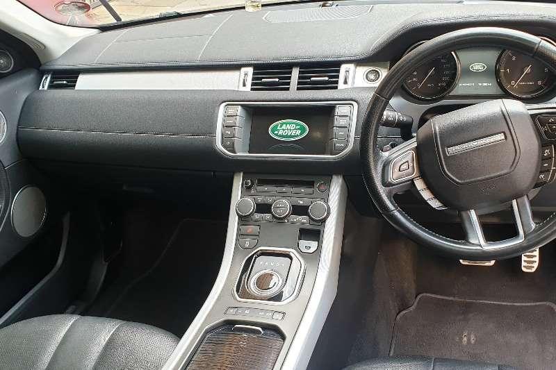 Land Rover Range Rover Evoque 5-door EVOQUE 2.0 SD4 SE 2015