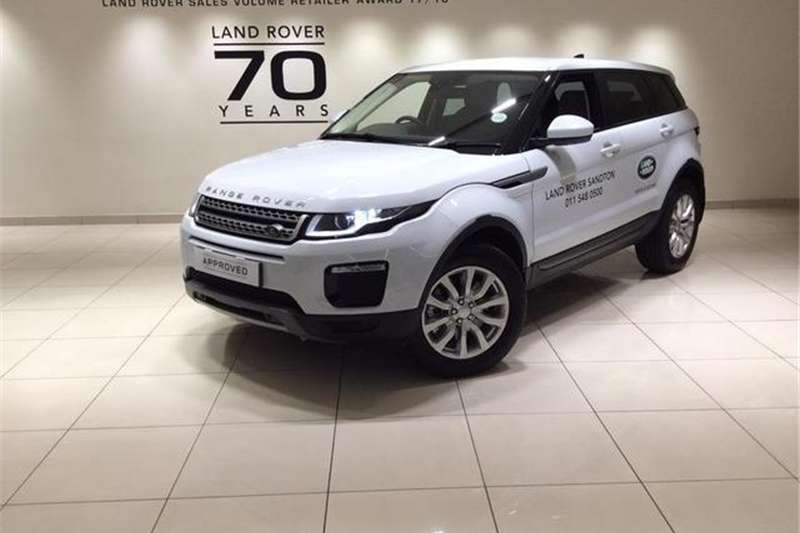 Land Rover Range Rover Evoque 5-door EVOQUE 2.0 SD4 SE 2018