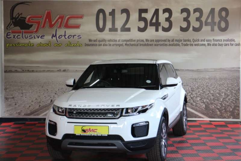 Land Rover Range Rover Evoque 5-door EVOQUE 2.0 SD4 SE 2019