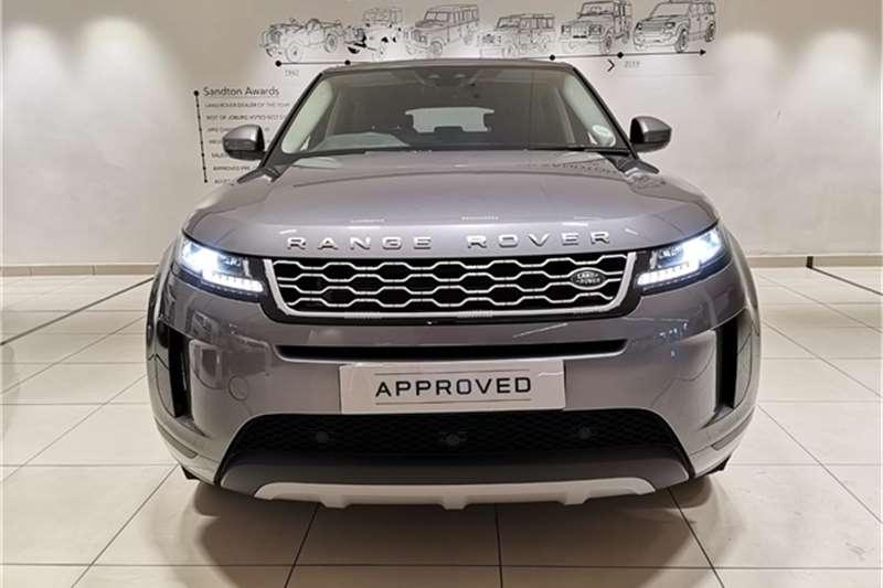 2020 Land Rover Range Rover Evoque 5-door EVOQUE 2.0T S 183KW (P250)