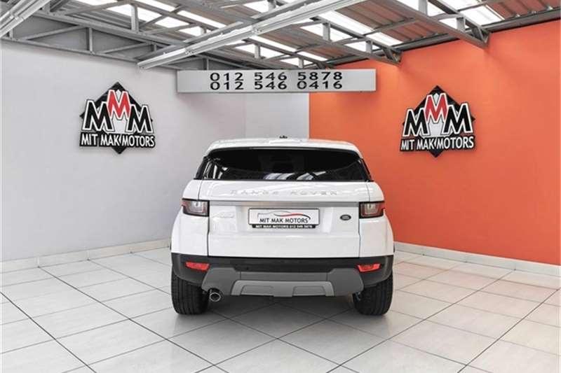 2017 Land Rover Range Rover Evoque 5-door EVOQUE 2.0 SD4 SE