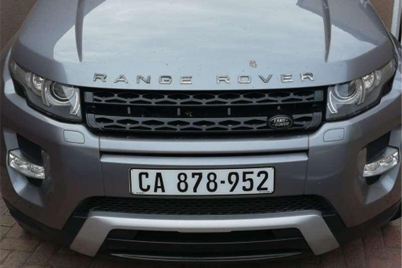 Land Rover Range Rover Evoque 5-door Si Dynamic 2012