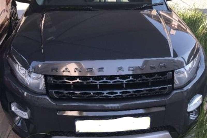 Land Rover Range Rover Evoque Autobiography Sd4 2012