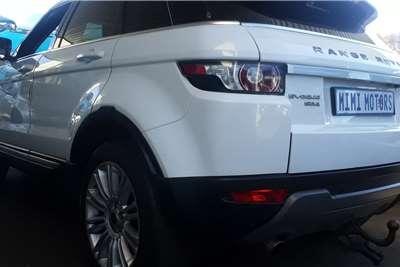 2013 Land Rover Range Rover Evoque Range Rover Evoque Autobiography Si4