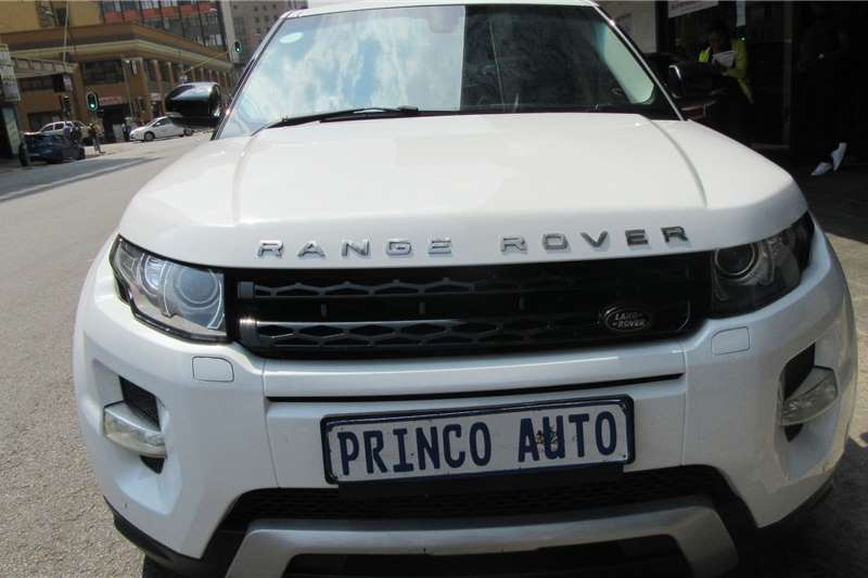 Land Rover Range Rover Evoque Autobiography Si4 2015
