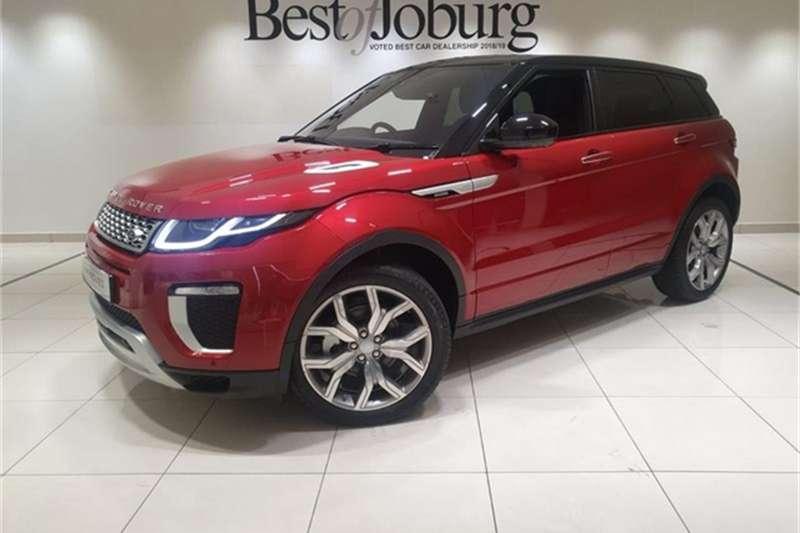 Land Rover Range Rover Evoque Autobiography TD4 2020