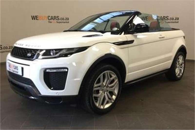 Range Rover Convertible For Sale >> Land Rover Range Rover Evoque Convertible Hse Dynamic Si4 2016