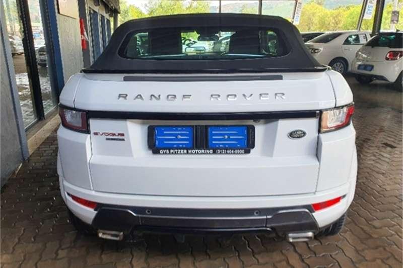 Land Rover Range Rover Evoque convertible HSE Dynamic Si4 2016