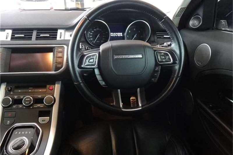 Land Rover Range Rover Evoque coupé SD4 Dynamic 2012