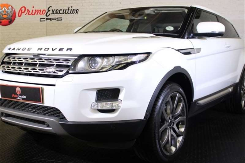 Land Rover Range Rover Evoque coupé Si4 Dynamic 2012