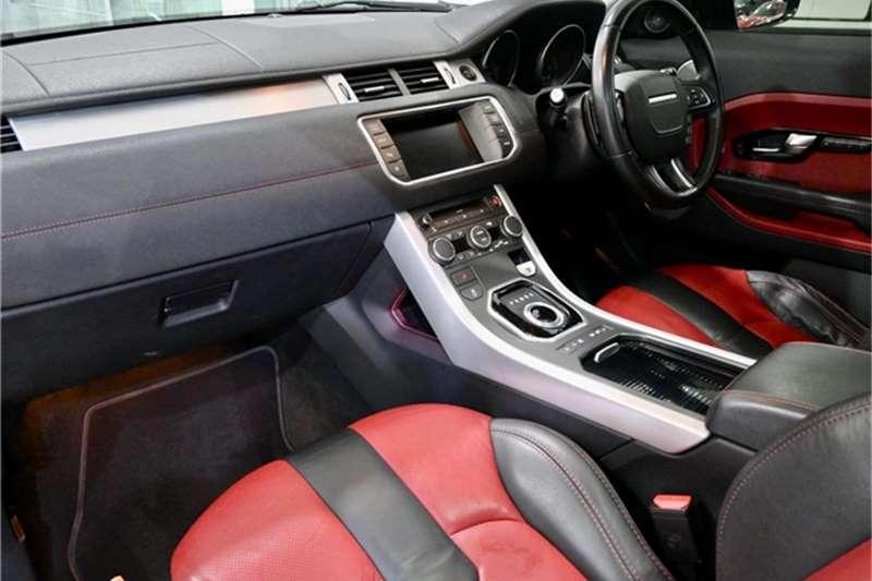 Used 2013 Land Rover Range Rover Evoque coupé Si4 Dynamic