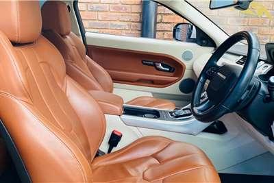 Land Rover Range Rover Evoque coupé Si4 Prestige 2012