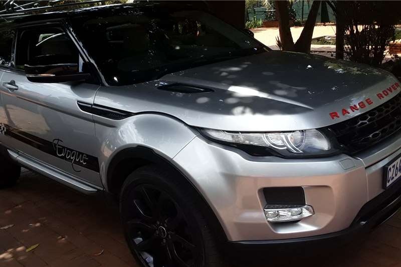Land Rover Range Rover Evoque coupe HSE Dynamic Si4 2013