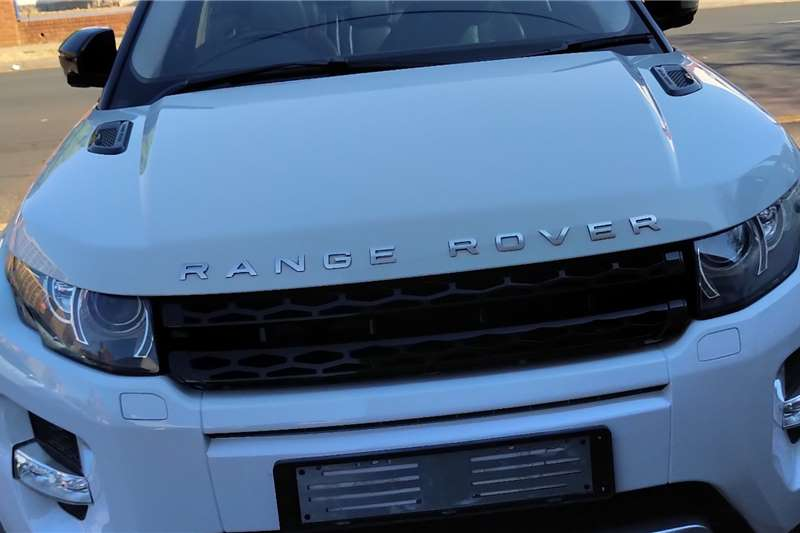 2012 Land Rover Range Rover Evoque coupe EVOQUE 2.0 SD4 HSE DYNAMIC COUPE