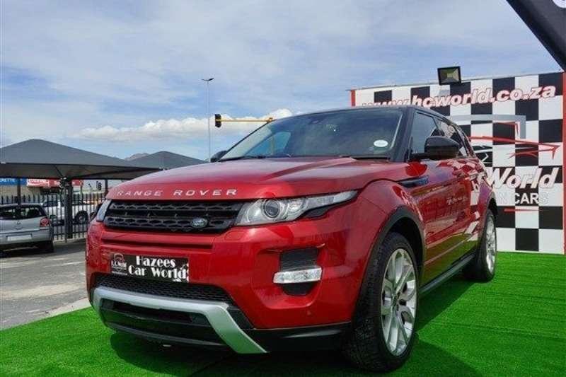 Land Rover Range Rover Evoque coupe SD4 Prestige 2014